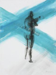 """Wondering William"" painting – Anelle Steyn"