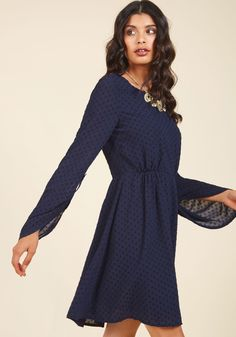Nostalgic Inclination A-Line Dress in S, #ModCloth