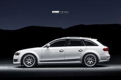 "Audi A4 Allroad on V710 Hyper Silver 20"""