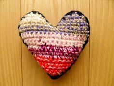 Pin Cushion - Colourful Heart Pin Cushions, Bobs, Heart, Color, Colour, Bob Hairstyle, Bob, Bob Cuts, Bob Sleigh