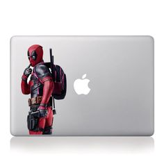 Deadpool Go To Schook Macbook Decal stickers 13 15 Decal Sticker For Macbook Pro / Air