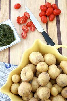 Pesto Potato, Tomato & Fresh Mozzarella Salad Recipe