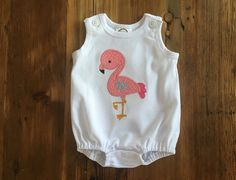 A personal favorite from my Etsy shop https://www.etsy.com/listing/274394272/custom-monogrammed-rompersunsuit-with