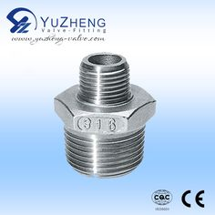 """Reduce Nipple. Size: 1/4""""~4"""": Working Pressure:1.6~6.4MPA Application: Water and Oil Industry. Contact: David.   Email &Skype: export1@yuzheng-valve.com. Mobile: +86 18058723339 Stainless Steel Fittings, Braided Hose, Oil Industry, Shower Hose, Rings For Men, Silver Rings, Hardware, David, Water"""