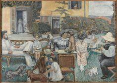 Pierre Bonnard, L'Après-midi bourgeoise, dit aussi La Famille Terrasse (A Bourgeois Afternoon or the Terrasse Family), 1900, Musée d'Orsay