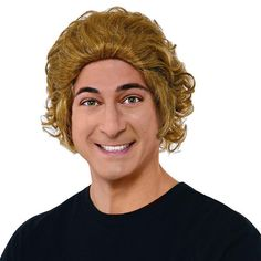 Adult Willy Wonka & the Chocolate Factory Oompa Loompa Costume Wig, Multicolor