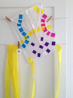DIY Japanese Children's Kite Craft