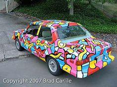 Lucky Stiff Wins BMW Art Car   Art Car Central