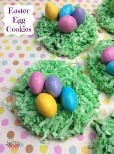 Easter Egg Cookies recipe that are not only cute but also tasty.