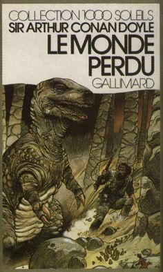 Arthur Conan Doyle's The Lost World  by Enki Bilal (1978, Gallimard)