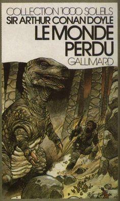 Arthur Conan Doyle's The Lost World  by Enki Bilal (1978, Gallimard)