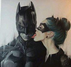 Kitty licks Bat