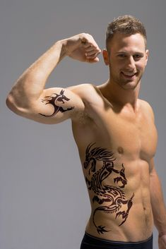 Image detail for -Tattoos For Men Rib and Bicep Tattoo Design for men – All2Need...awesome!