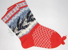 "knitting socks ""Swallow"". €17.00, via Etsy."