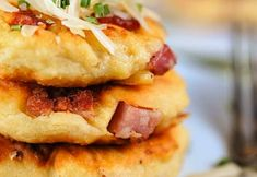 Ham and cheese potato cakes - Real Recipes from Mums