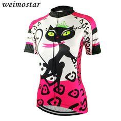 Women s Cycling Clothing Short Sleeve Cycling Jersey Outdoor Top Bike Shirts  Girls Wear Jersey MTB bicycle 58d8956e1