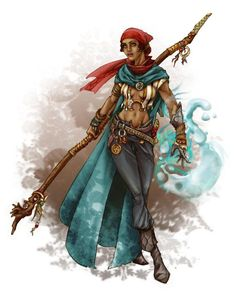 dungeons and dragons female water druid - Google Search