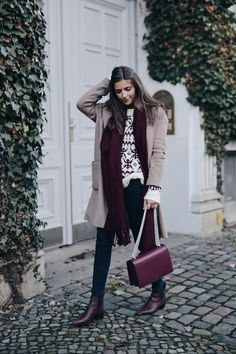 All Bordeaux Everything - Simple et Chic - Fashion & Lifestyle Blog