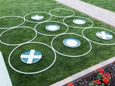 Do it yourself outdoor party games the best backyard entertainment add big time fun to your next outdoor get together with this oversized tic solutioingenieria Gallery