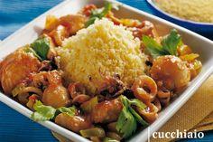 Recipe Mix, Kung Pao Chicken, I Love Food, Starters, Quinoa, Nom Nom, Grains, Beef, Fish