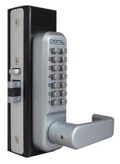 Lockey 2985 Keyless Mechanical Digital Adams Rite Style Latch Door Lock. For Narrow Stile Doors  sc 1 st  Pinterest & Keyless Lock - I like the idea of keyless locks but often they look ...