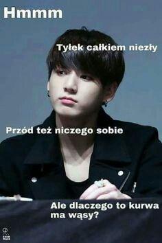 K-pop i te sprawy # Losowo # amreading # books # wattpad Jimin, Bts Bangtan Boy, K Meme, Funny Memes, K Pop, Polish Memes, Korea Boy, Reasons To Smile, About Bts