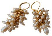 Vintage Pearly Cha-Cha Earrings