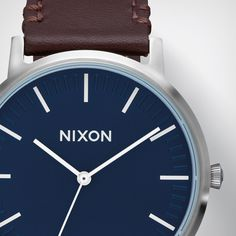Clean and considered. The Porter Leather makes a statement without all of the excess. nxon.co/2avlluB