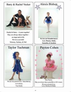 7 Best Showcase Program Ad Ideas images | Dance recital ...