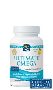 Omega-3 fish oil from a company who tests for mercury and other contaminants. Omega-3 oils help with inflammation, aid digestion, cognitive and brain activity, amongst a myriad of other benefits.