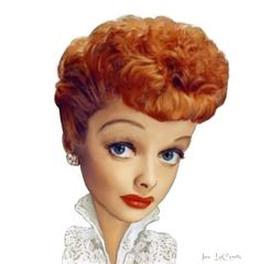 lucile ball caricatures | Lucille Ball Caricature by jantheempress on deviantART