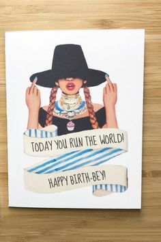 A2 Envelopes, Happy Birth, Beyonce, Card Stock, Greeting Cards, Messages, Running, World, Printed