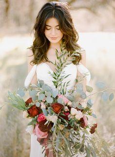 Featured Photographer: REBECCA YALE; wedding bouquet idea