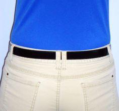 Slimware - Flat in back.  www.hartwares.com, www.amazon.com/Flat-Buckle-Belt-Slimware-Black/dp/B00CWHLU94/ref=sr_1_1?ie=UTF8=1372905287=8-1=hartwares+belt