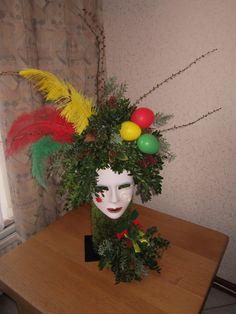 Karneval Diy, Mardi Gras, Carnival, Workshop, Wreaths, Costumes, Clowns, Floral, How To Make