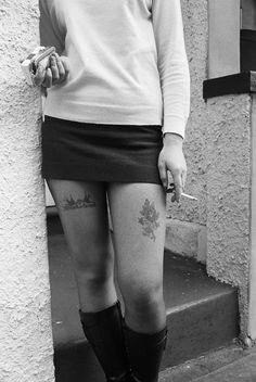 Working girl in Kings Cross, London 1970. photo by  Rennie Ellis (Australia 1940 - 2003):