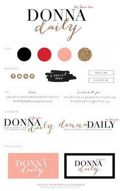 Donna Daily | Business Branding | Graphic Design