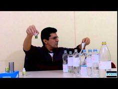 TESTE DA ÁGUA - A ÁGUA que você bebe é ALCALINA, ou  ÁCIDA?