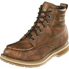 "Cabela's 6"" Roughneck™ GORE-TEX® Moc-Toe Work Boots at Cabela's - $90"