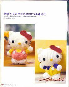 Patron Hello Kitty Grande Amigurumi : 1000+ images about Amigurumis on Pinterest Amigurumi ...