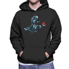 Pokemon Assassins Creed Pokeball Ezio Mens Hooded Sweatshirt -- See this great product.
