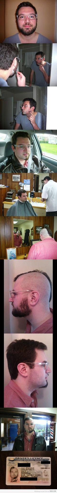 Demi barbe