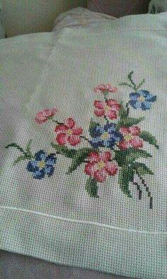 The most beautiful cross-stitch pattern - Knitting, Crochet Love Cross Stitch Letters, Cross Stitch Love, Cross Stitch Borders, Cross Stitch Samplers, Cross Stitch Flowers, Cross Stitch Charts, Cross Stitch Designs, Cross Stitching, Cross Stitch Embroidery