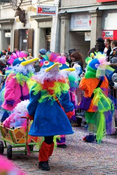 Carnival parade in Solothurn 2012