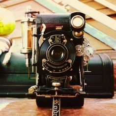 Steampunk vintage camera and this is amazing