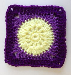 """Ravelry: Project Gallery for Nana's """"Granny Circle Square"""" pattern by Des Maunz"""
