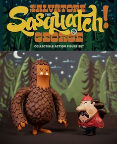 Salvatore the Sasquatch