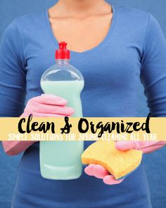 Download this free ebook to clean your home in a hurry! This spring cleaning book will show you simple solutions for cleaning all year.