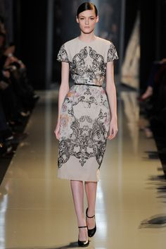 Elie Saab Spring 2013 Couture Fashion Show - Kremi Otashliyska (Elite)