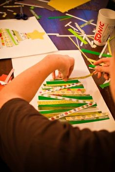 Cute Christmas crafts to do with the kids by louisa